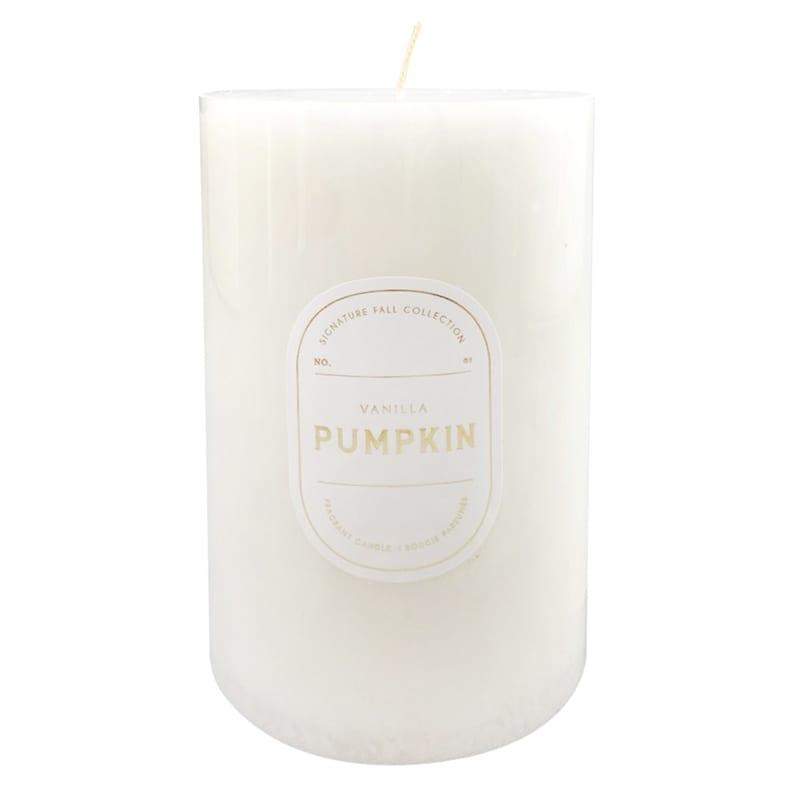 Vanilla Pumpkin Pillar Candle, 3x6