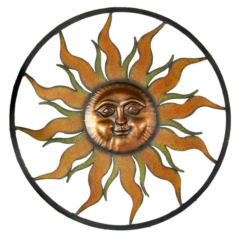 39in. Metal Sun