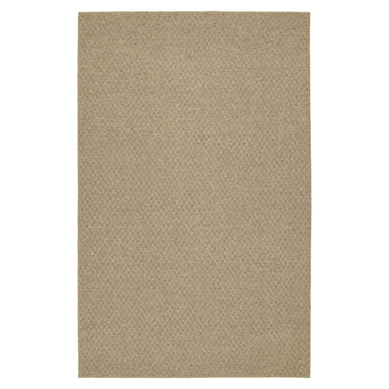 (D133) Town Square Area Rug Tan, 5x7