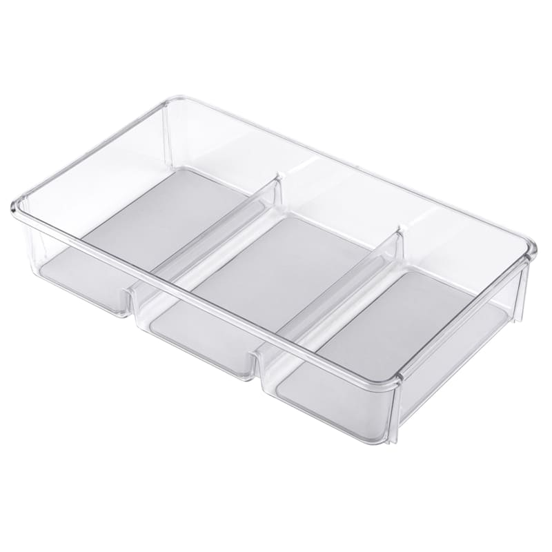 Cosmetic Tray 3 Compartment