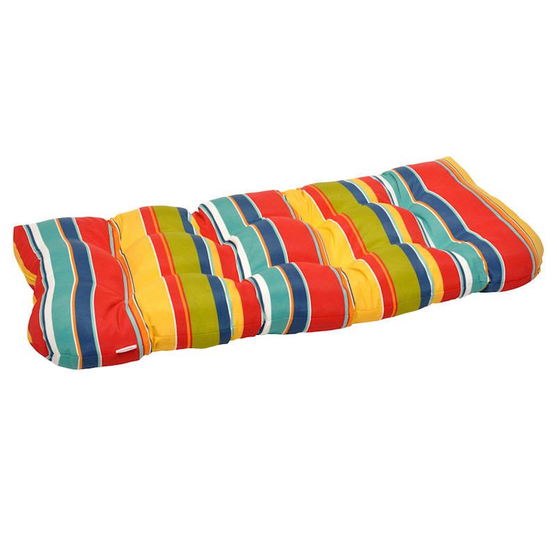 Macrae Garden Outdoor Wicker Settee Cushion