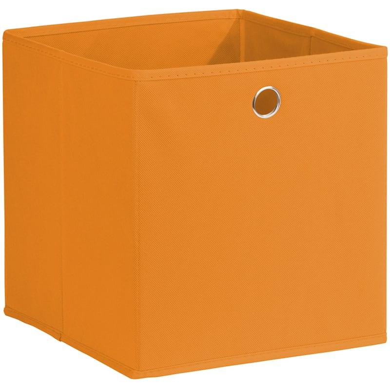 Kid Fabric Cube Tote Orange