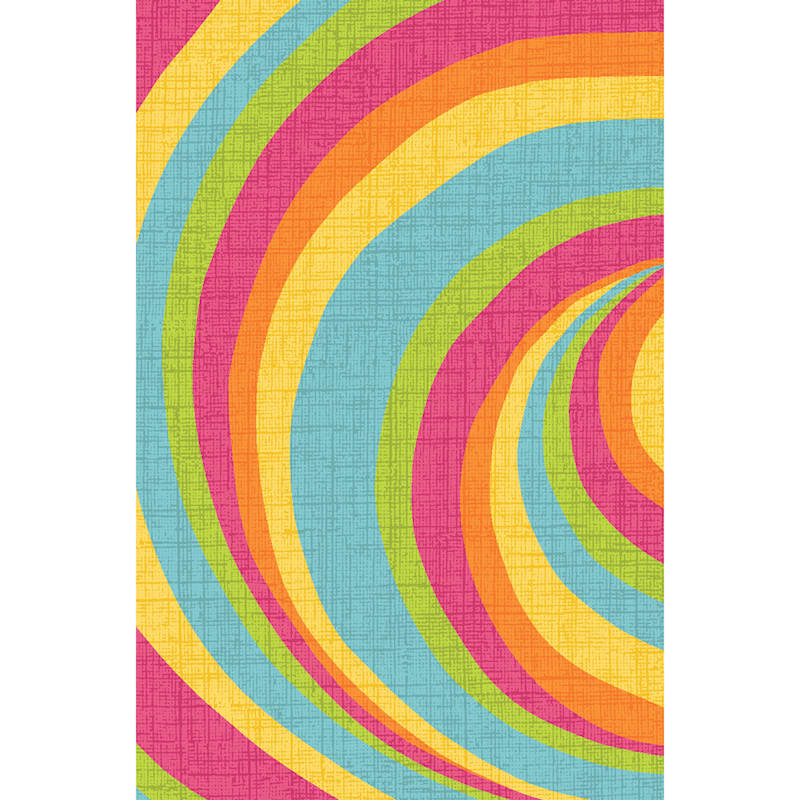 (D146) Gloucester Bright Verteuil Printed Rug With Non-Slip Back, 5x7