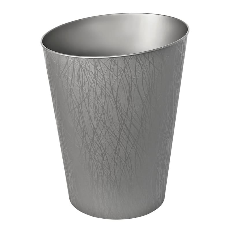 Hefty 2.3 Gal Decorative Wastebasket Bronze