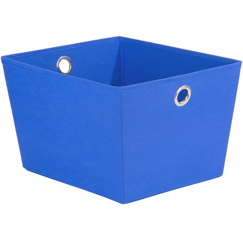 Tapered Tote W/Grommet Blue