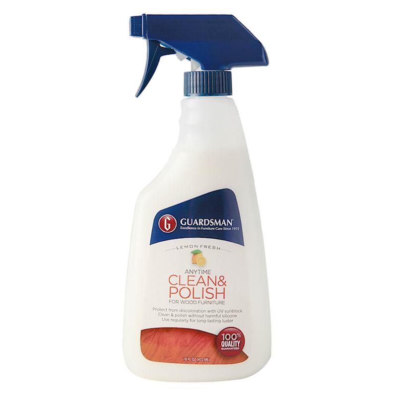 Guardsman Anytime Clean Lemon Fresh Polish- 16 oz. Spray