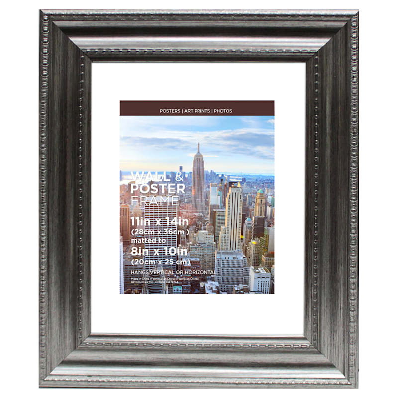 11X14 Matted To 8X10 Anne Silver Poster Frame