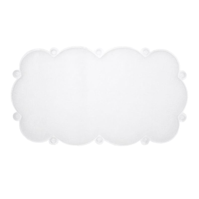 Small Cloud Mat Clear