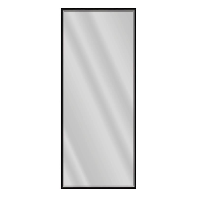 26x60 Taylor Black Grain Thin Mirror