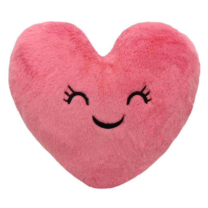 Giggle Heart Plush Throw Pillow