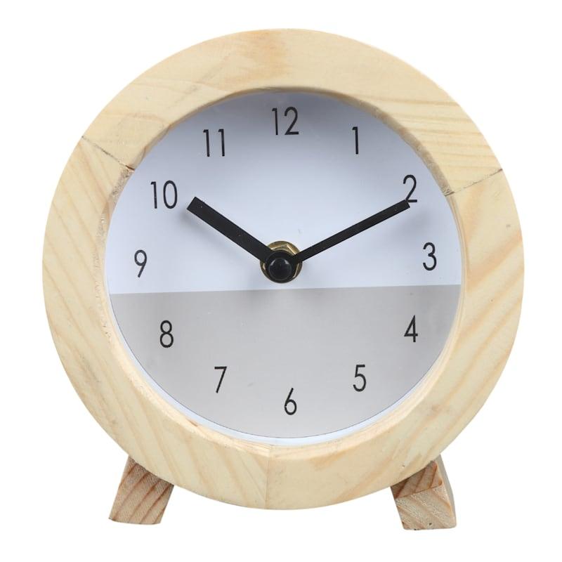 White Oak Clock 6in.
