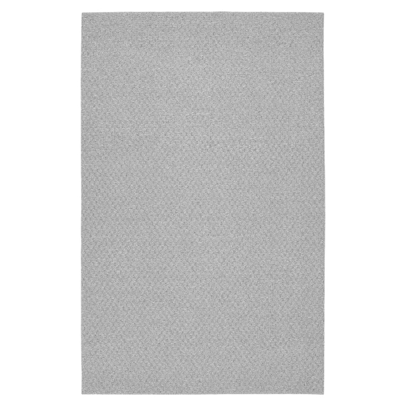 (D137) Town Square Area Rug Gray, 7x10