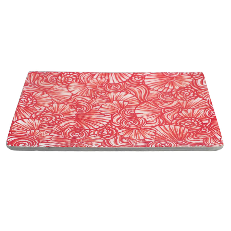 """8"""" Wooden Trinket Tray with Decal"""