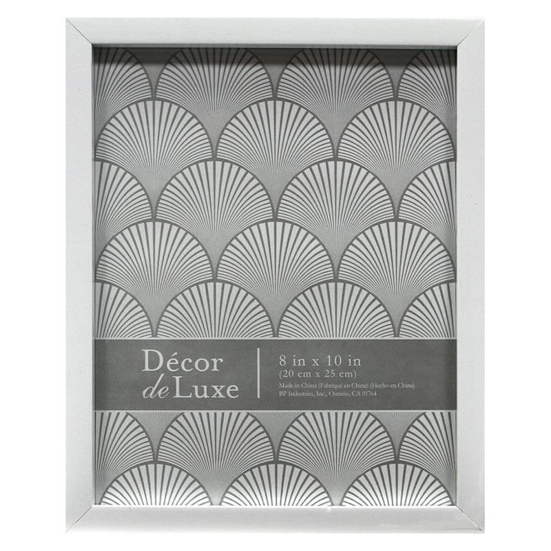 8X10 White Tabletop Frame