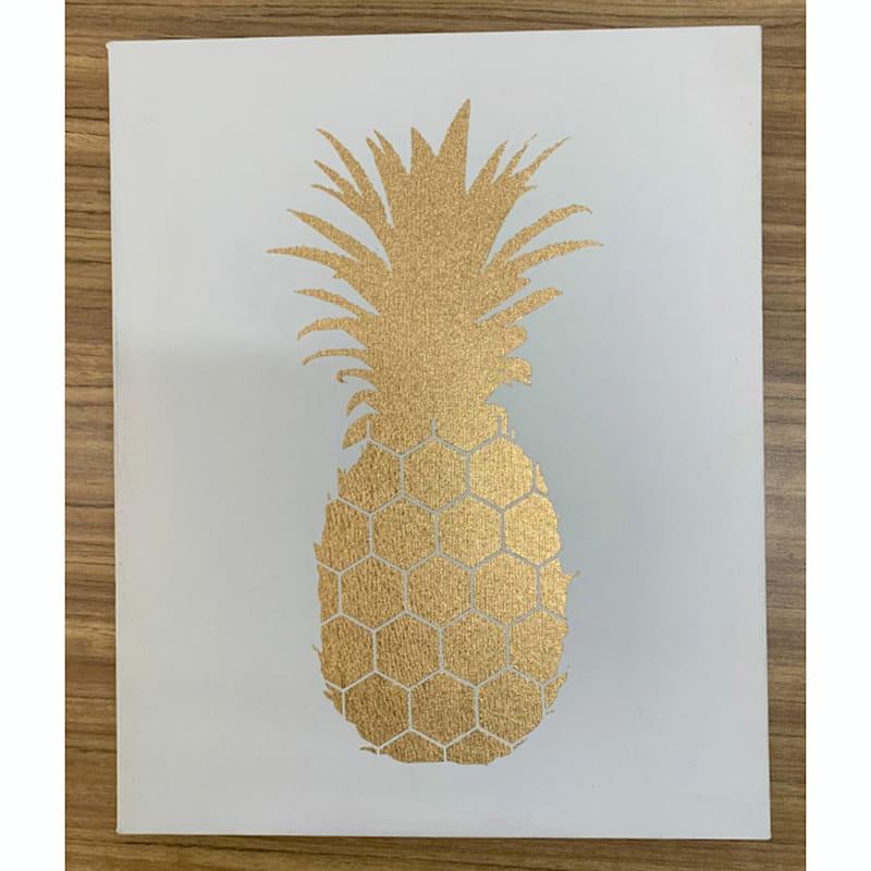 9X11 Pineapple Art Canvas