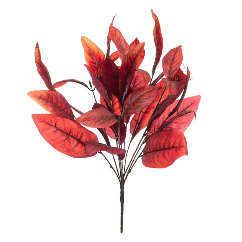 """Red Magnolia Leaf Bush, 20"""""""