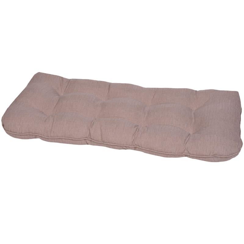 Sonora Taupe Outdoor Premium Wicker Settee Cushion