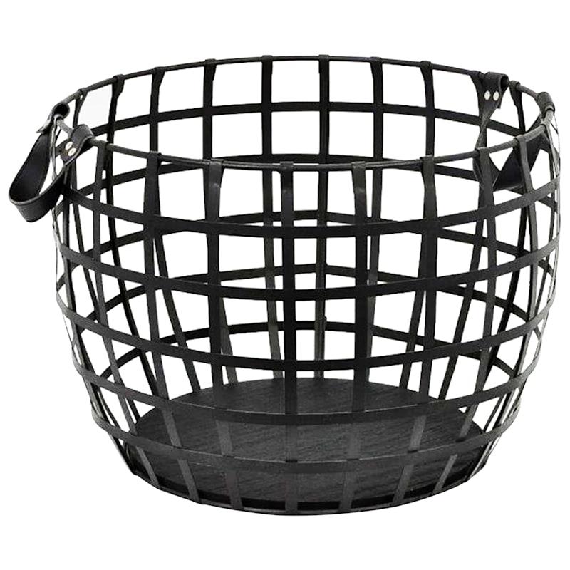 Metal Basket/Handles