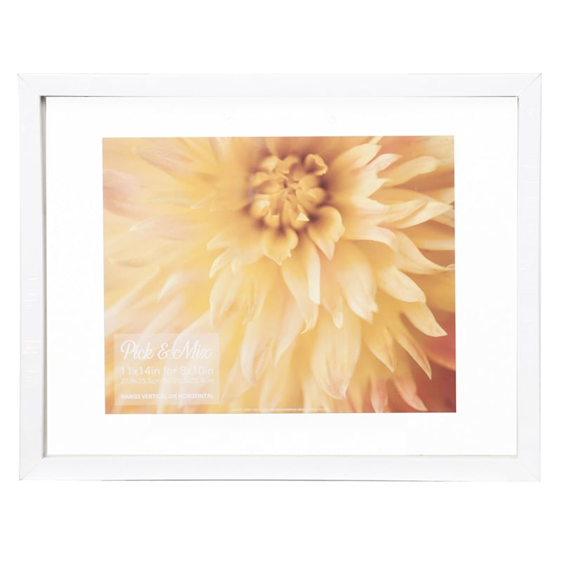 Pick And Mix 11X14 White Linear Float Photo Wall Frame