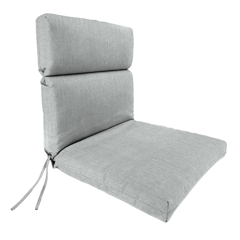 Tahiti Silver Outdoor Hinged Chair Cushion