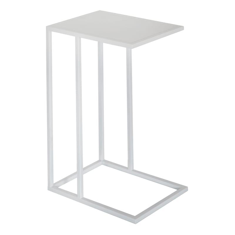 Metal C Table White