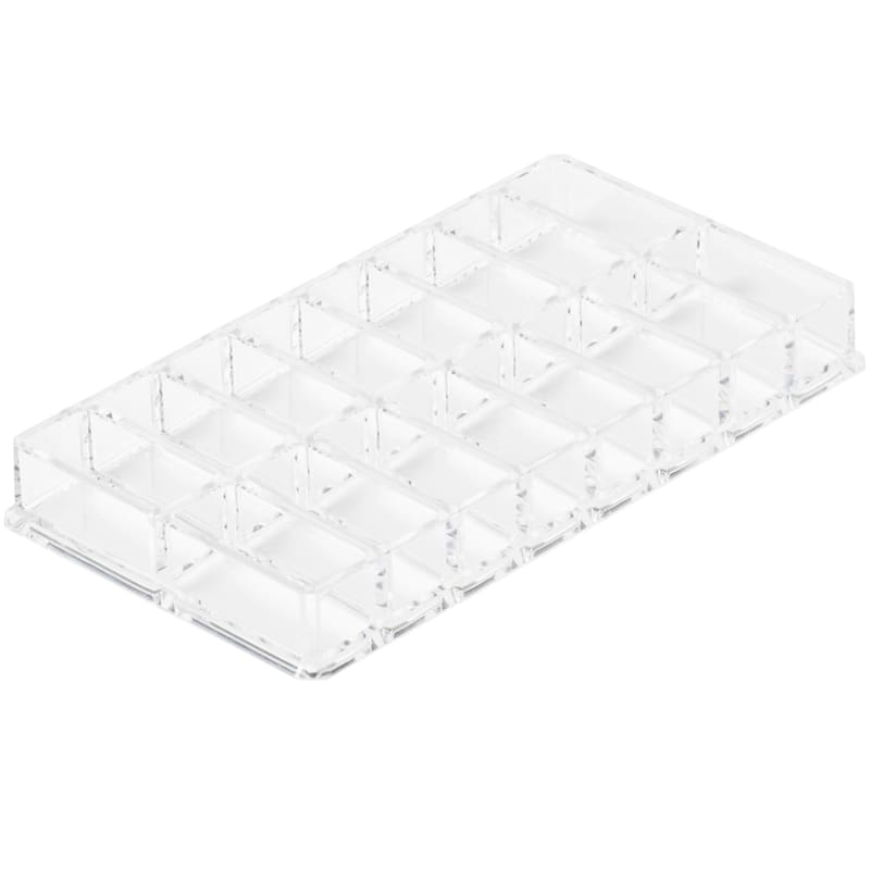 16 Compartment Cosmetic Tray