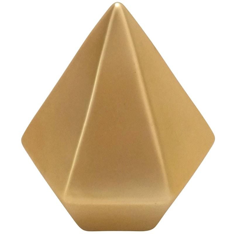 4in. Ceramic Gold Triangle
