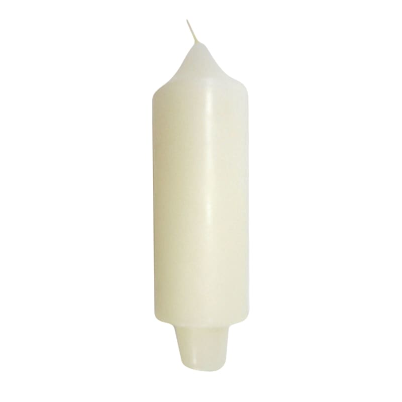 5in. Carriage Candle Ivory