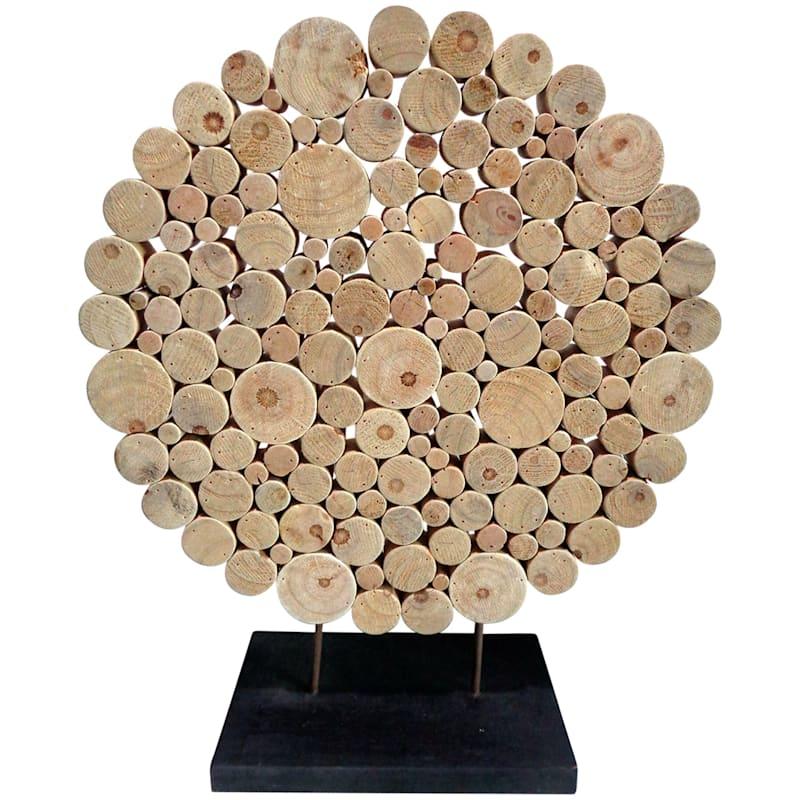 20X24 Wood Slice Decor