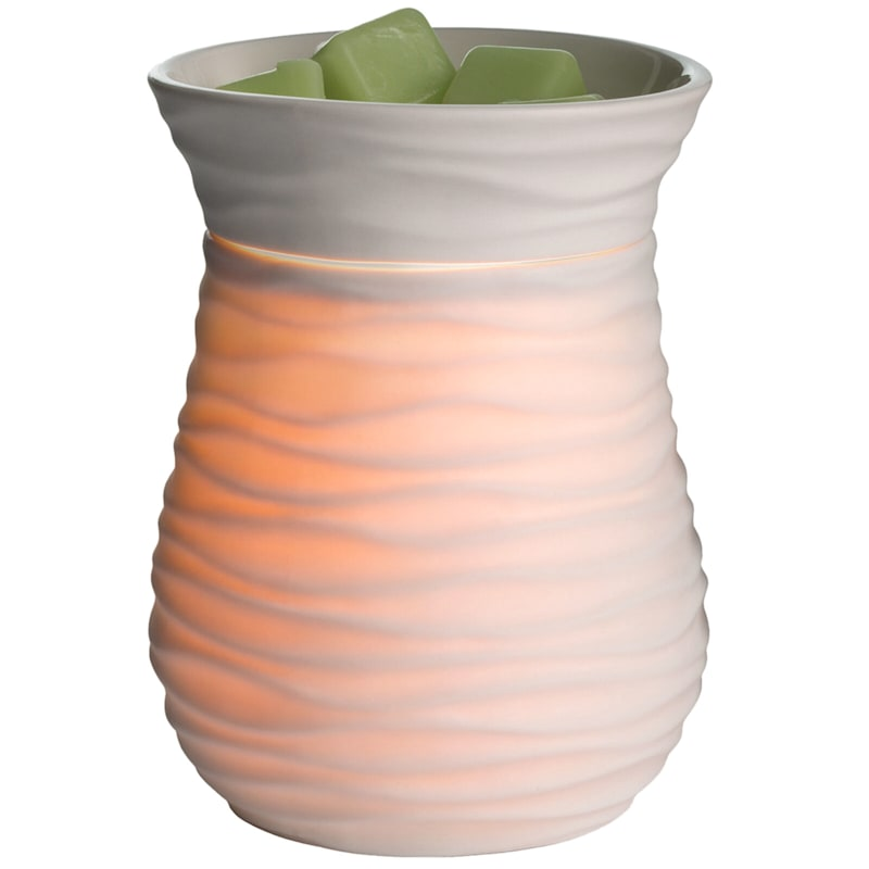 White Ceramic Wax Warmer