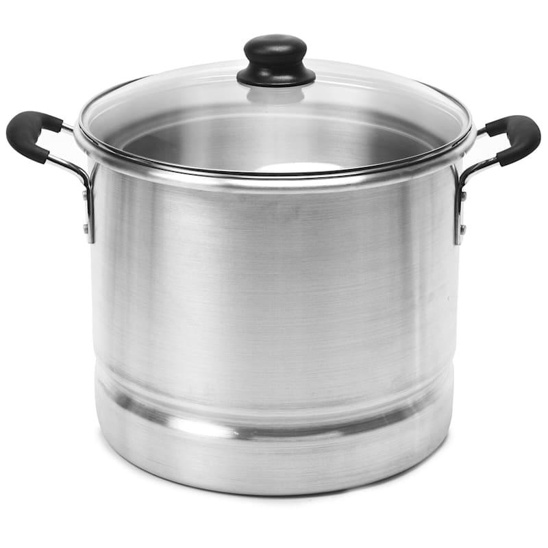 IMUSA 16qt Steamer With Glass Lid
