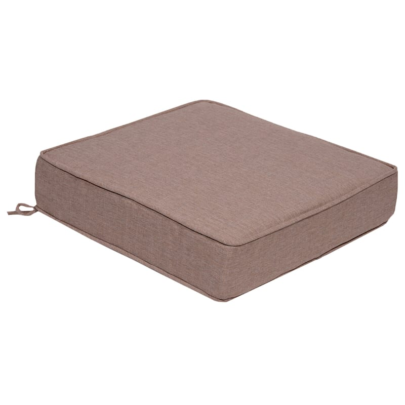 Sonora Taupe Outdoor Premium Deep Seat Cushion
