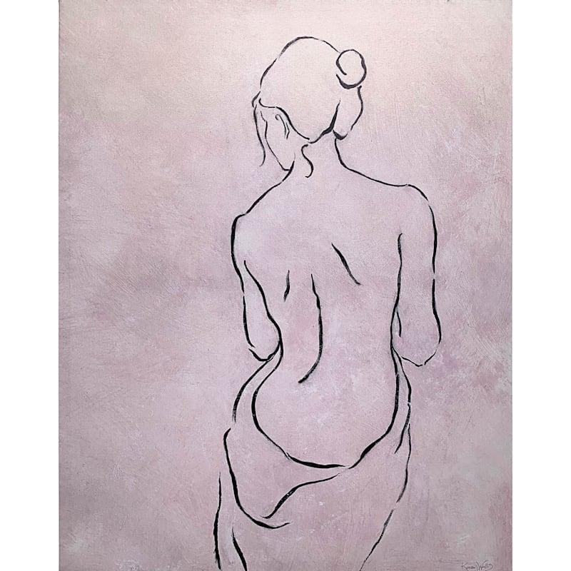 22X28 Alabaster Bather 2 Canvas Art