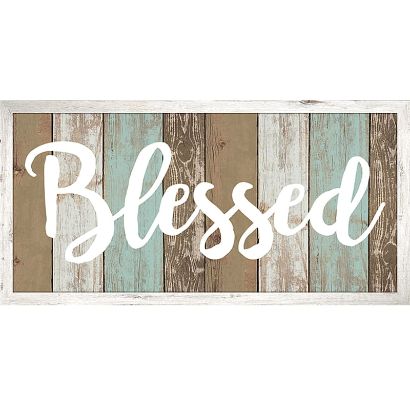 36X24 Blessed Canvas