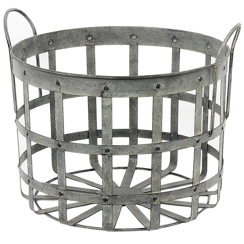Iron Rivet Basket