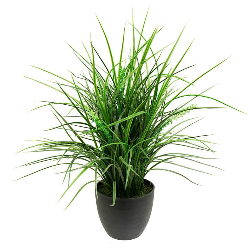 20in. Plastic Grass W Berry