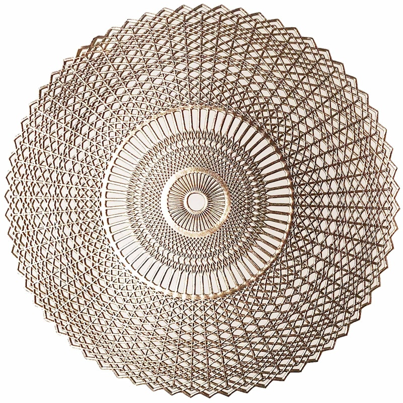 Set Of 4 Cambria Placemat Gold