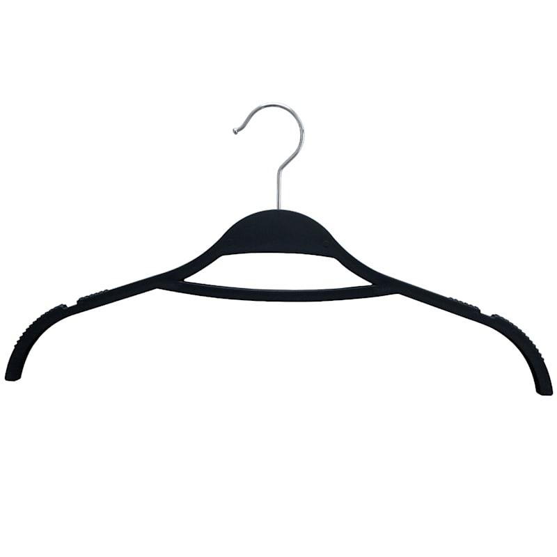 Non Slip Black 12-Piece Shirt Hanger