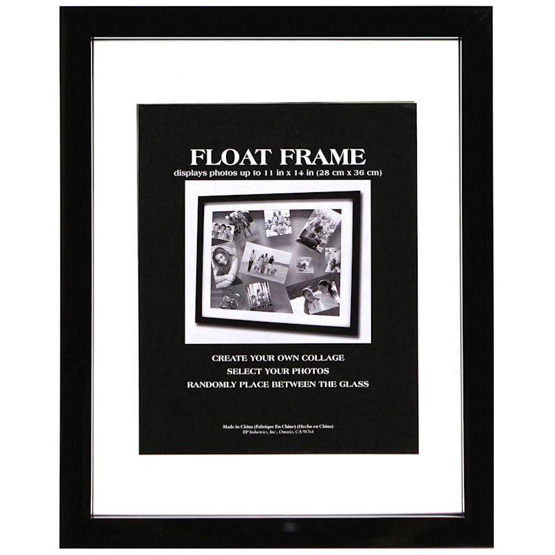 11X14 Black Float Frame