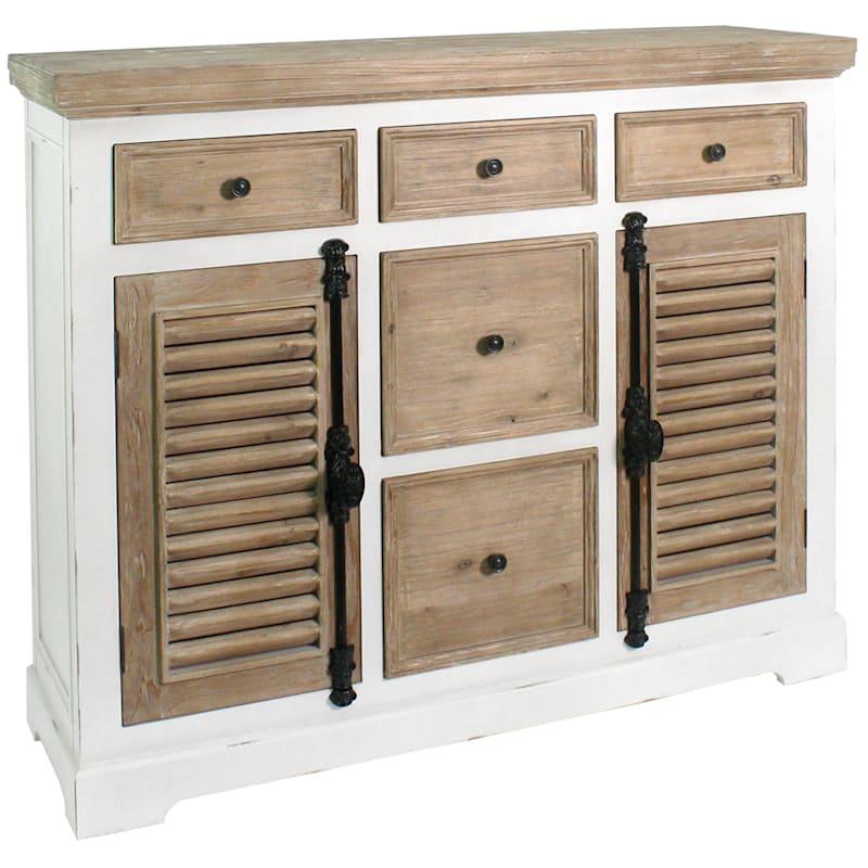 Sherry Shutter Cabinet