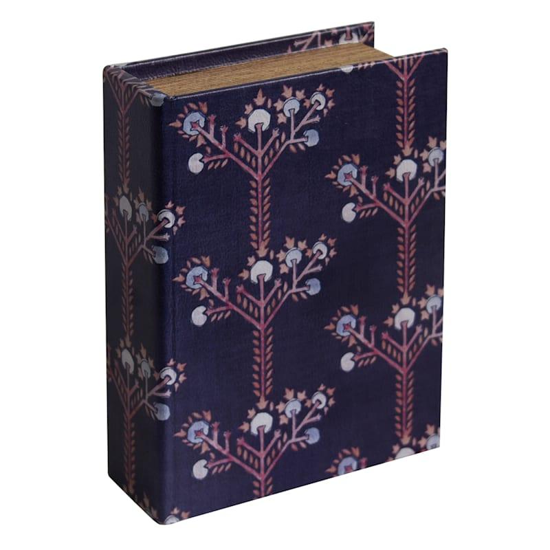 9 INCH WOOD BOOK BOX DECOR