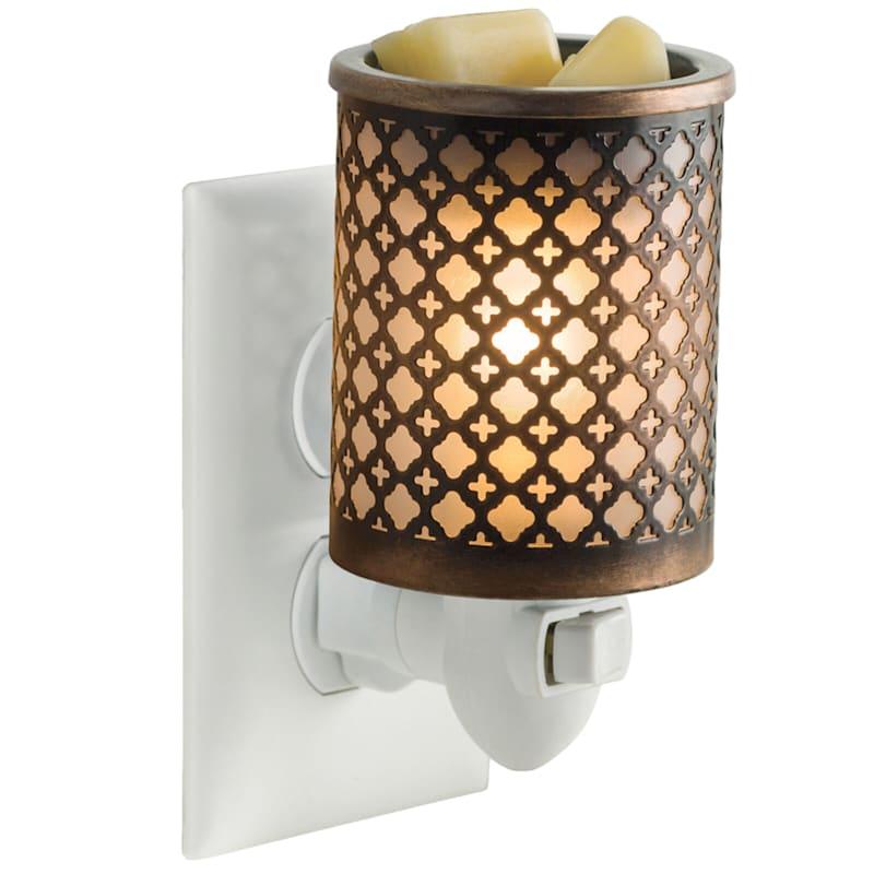 Moroccan Metal Plugin Wax Warmer