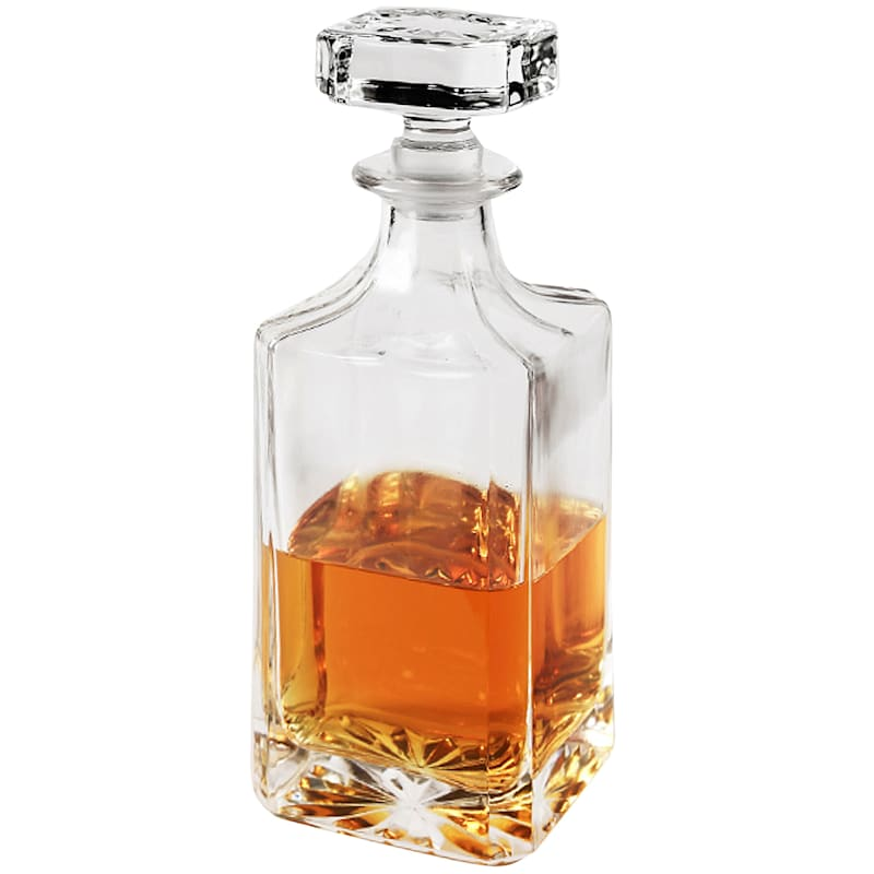 Whiskey Glass Decanter & Glass Stopper