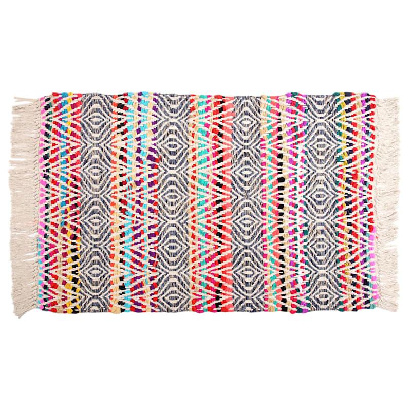 Chindi Tribal Ivory Multi, 2x4