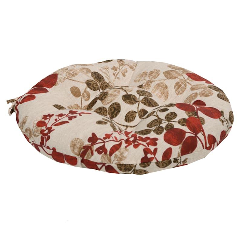 Cabrera Sangria Outdoor Round Seat Cushion