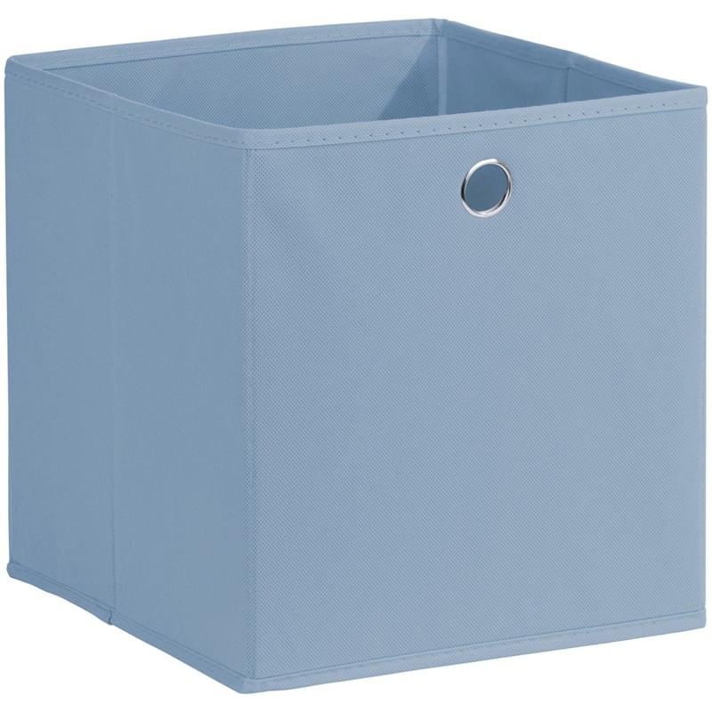 Kid Fabric Cube Tote Light Blue