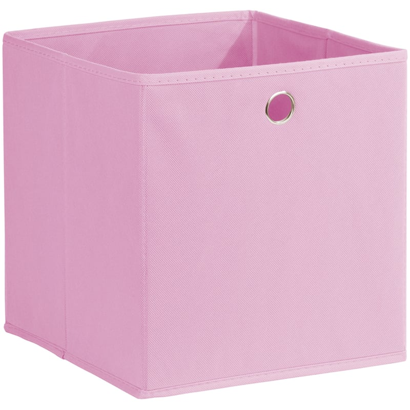 Kid Fabric Cube Tote Pink