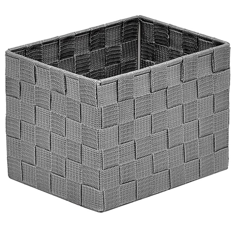 XSmall Under the Bed Nylon Basket Grey