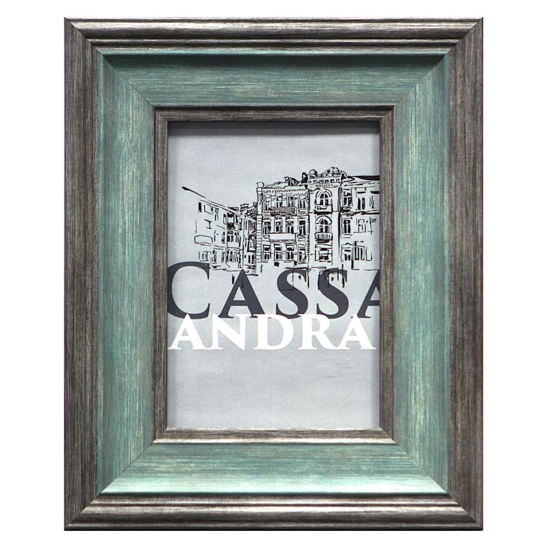 4X6 Turquoise/Grey Tabletop Frame