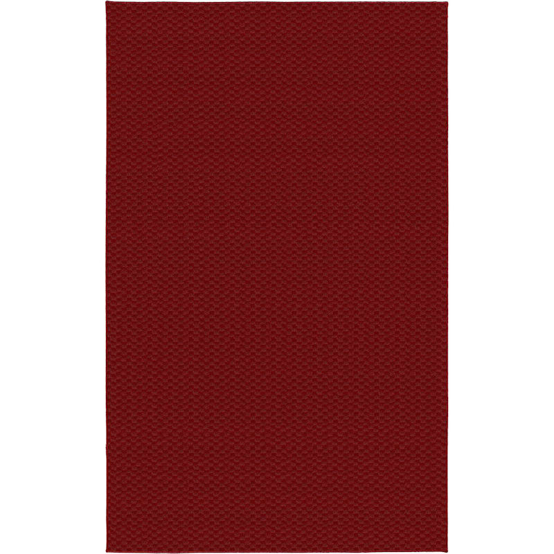 (D366) Medallion Area Rug Red, 7x10